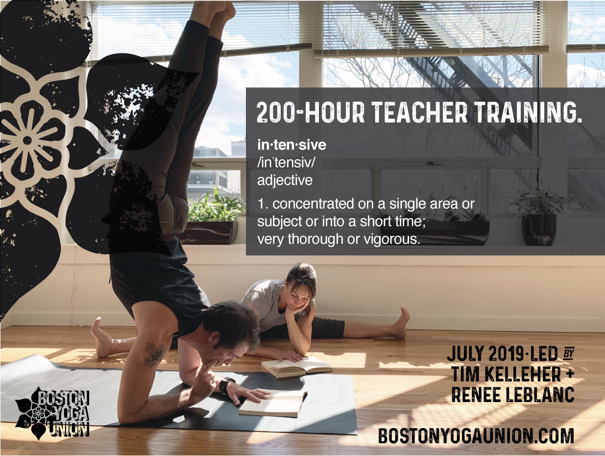 Yoga Connects 2 Day Training With >> 200 Hour Teacher Training Intensive Boston Yoga Union