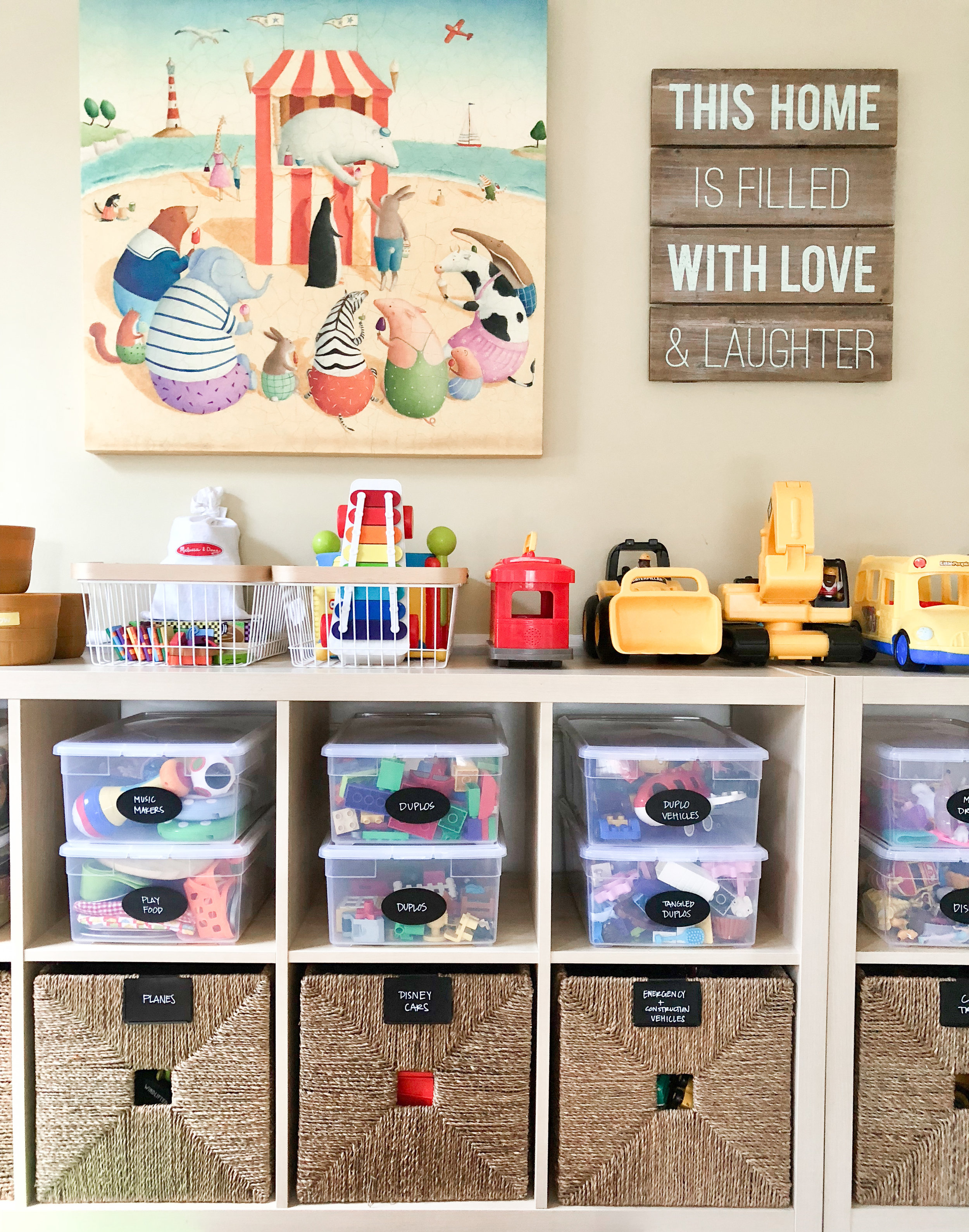 House of Turk | Toy Organization and Storage