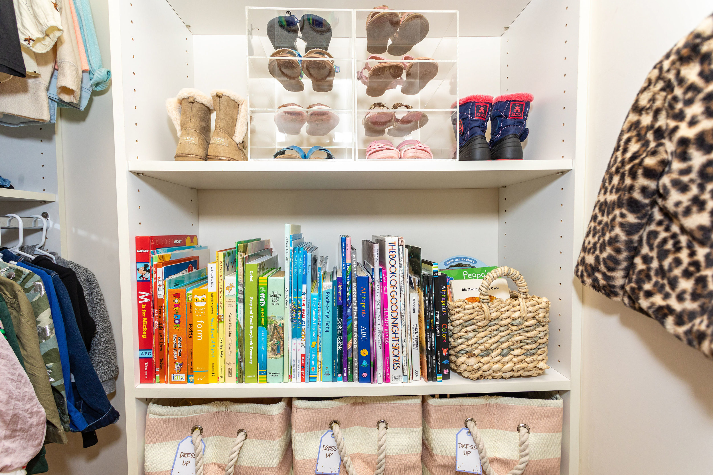 House of Turk | Kids Closet Organization and Design