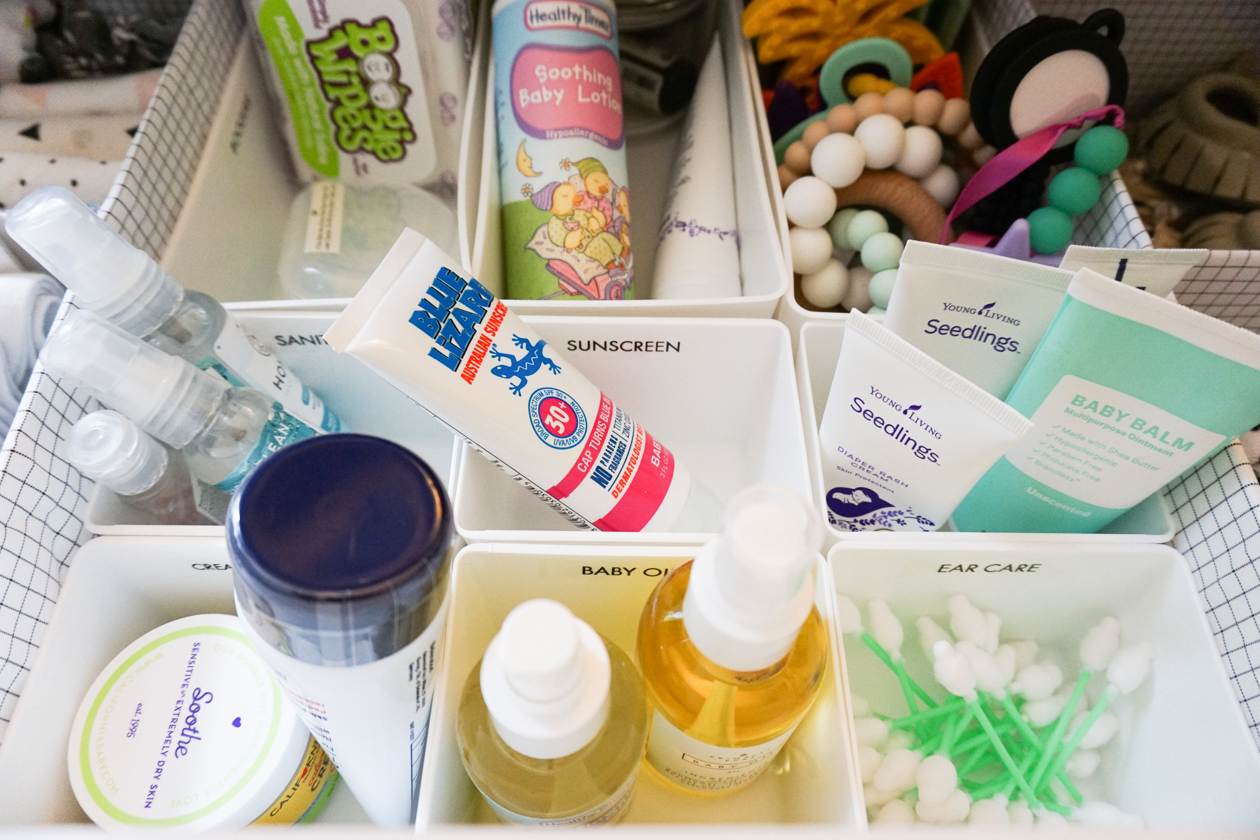 Nursery Drawer Essentials