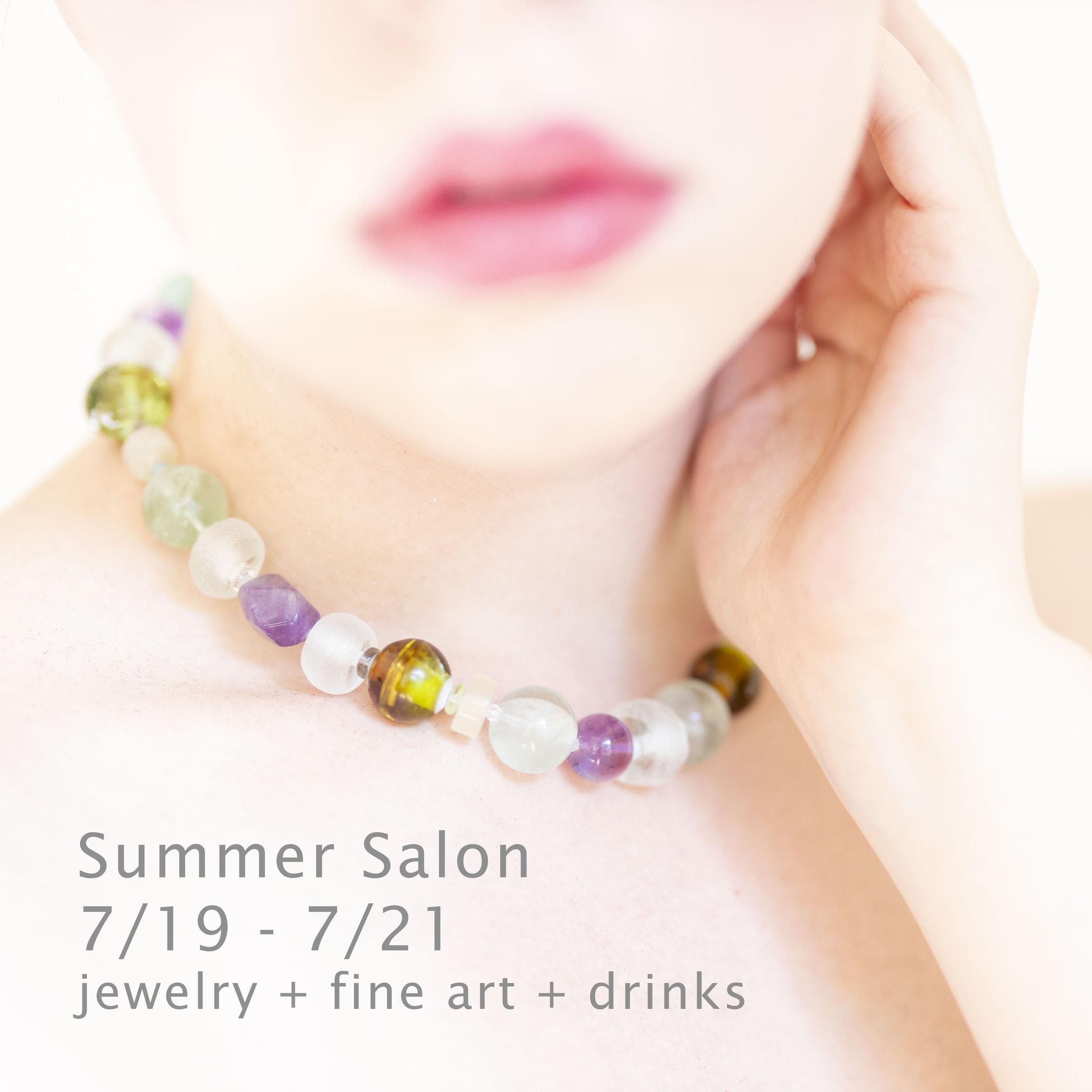 Jeana Edelman Necklaces Summer Salon
