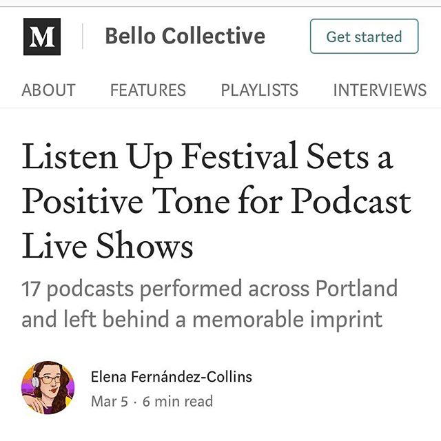 Thank you @medium and Bello Collective for the #ListenUpPDX recap! We loved having you at the festival.⁣ ⁣ Link in bio for the full article!⁣ ⁣ #podcast #podcasts #podcasting #podcaster #podcastlife #podcastaddict #podcastlove #podcastjunkie #itunespodcast #spotifypodcast #applepodcast #portland #pdxnow #pdxevents #pdx #portlandoregon #portlandor #dossiernaturally #hellosentinel #hoteldeluxe #houseofwelcome #provenancehotels⁣ #listenuppdx