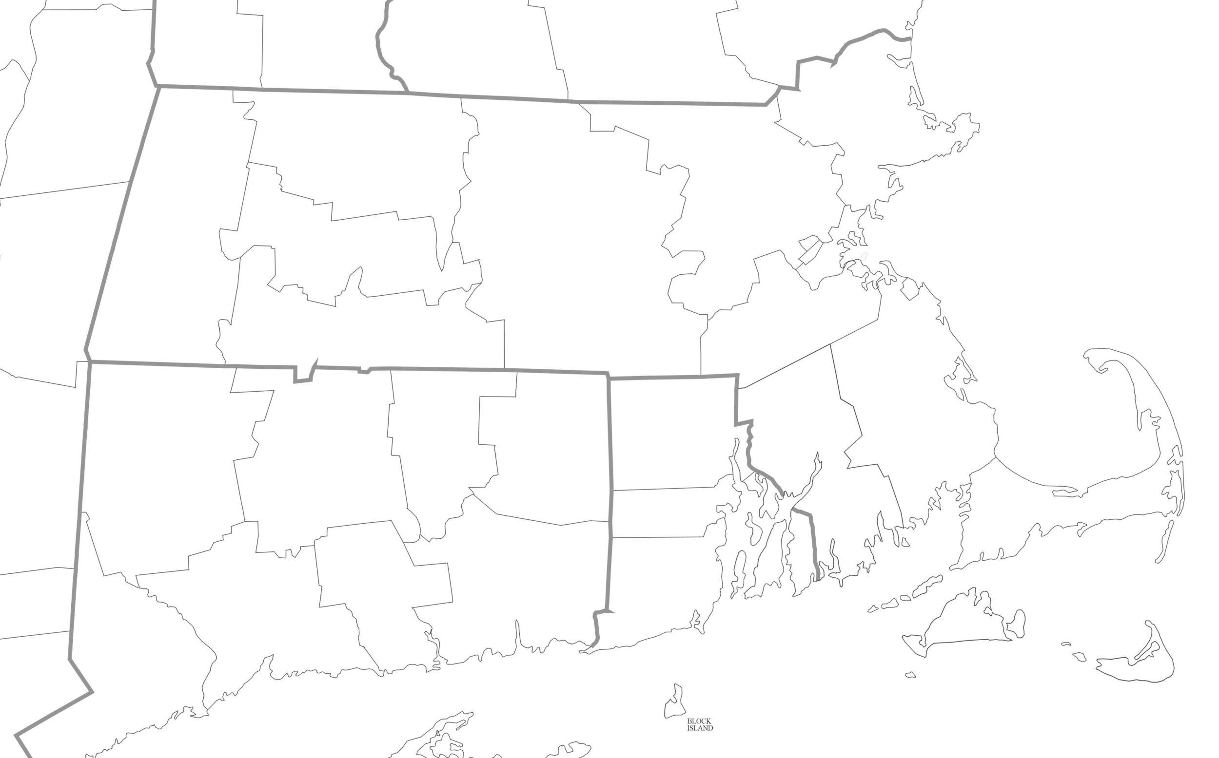 Rhode Island, Massachusetts, and Connecticut