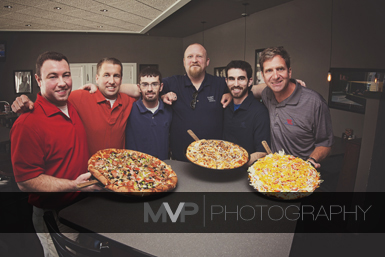 David Tofflemire, Fleming place manager; Jason Lehnherr, co owner; Ryan Baker, Lake Shawnee manager; Bill Henson, West Topeka Manager; James Cook, west lawrence manager; George Hughes, co owner