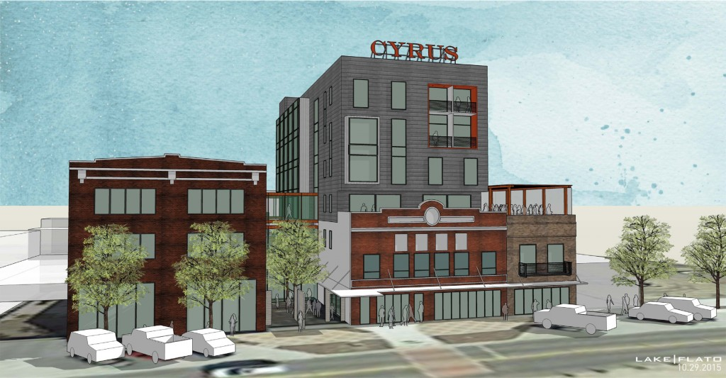 project | Cyrus Hotel location | Topeka, KS completion date | Late 2017 concept image credit | Lake Flato