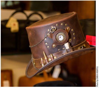 Stutzman Leather Shoppe carries a wide variety of quality leather goods including hats, jackets, vests, wallets, purses, luggage and travel accessories.
