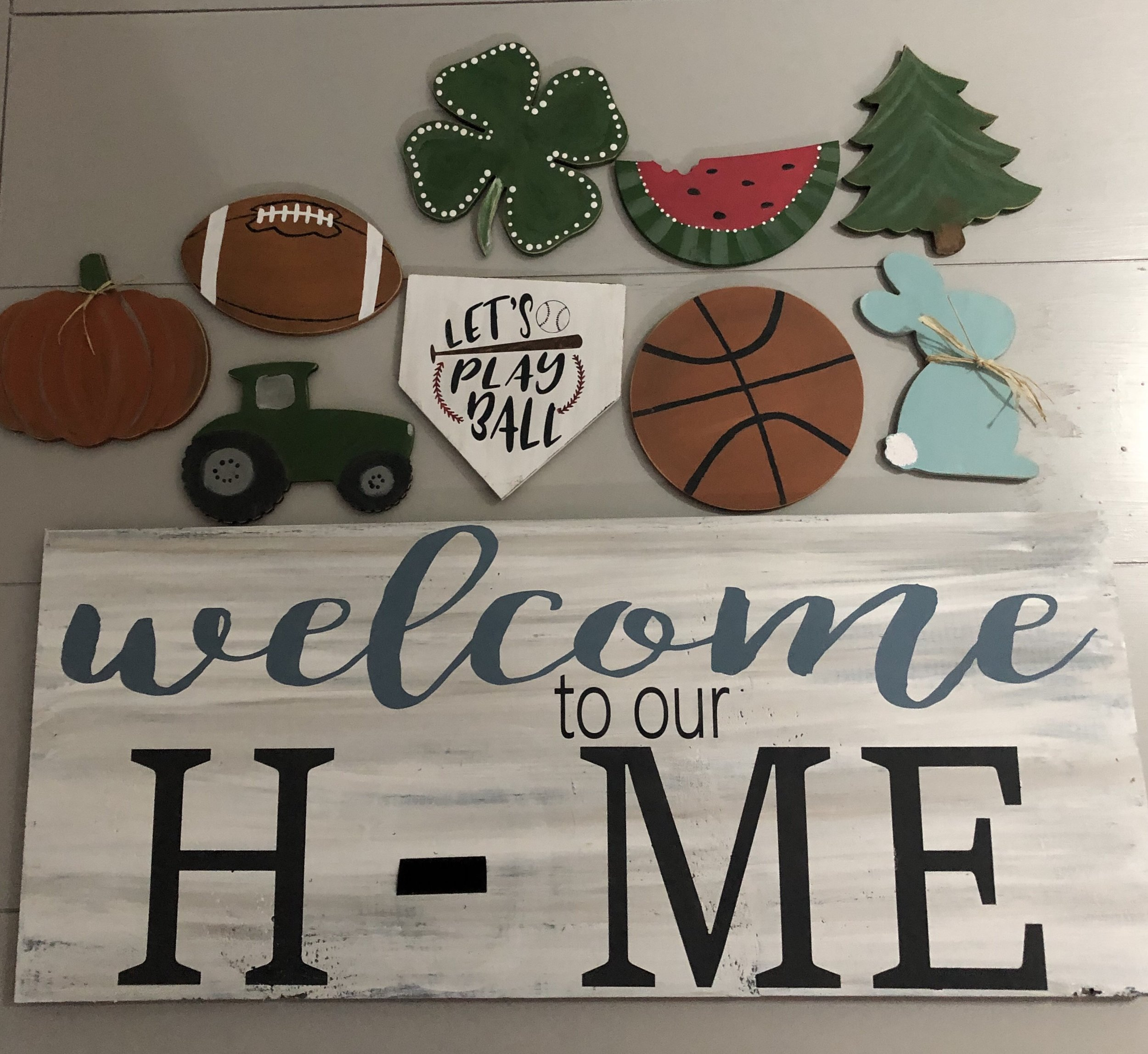 Welcome to our Home sign by The Firehouse that received almost 10 million views, 21,000 comments and 76,000 shares on Facebook.