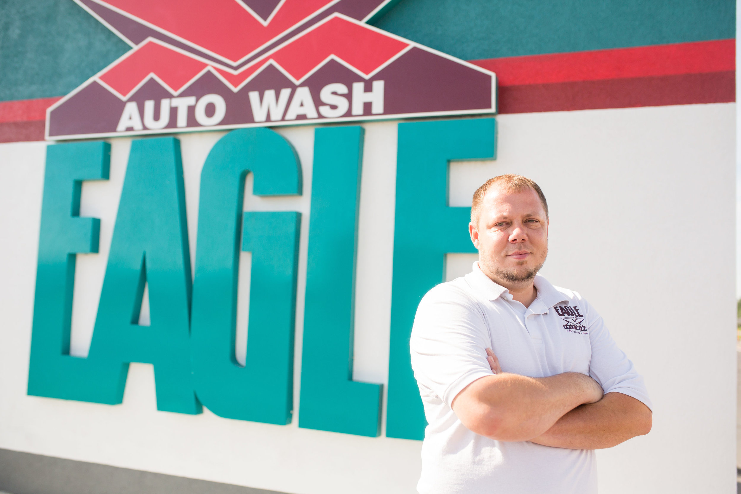 Shelby Reutzel, operations manager at Eagle Auto Wash & Detailing Salon, provides on-the-job training and subtle life lessons about positive attitudes.