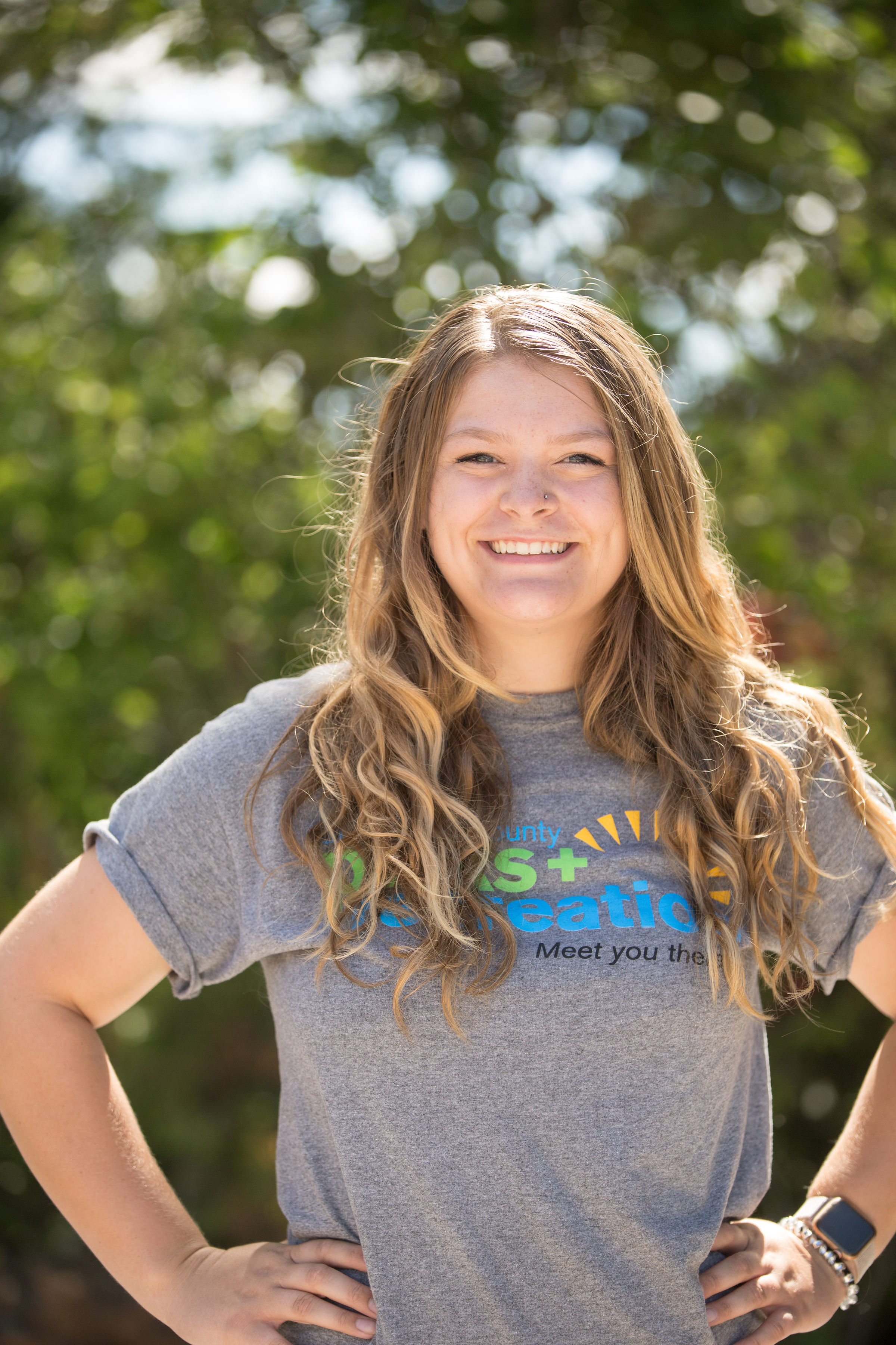 Grace Mlynek, an 18-year-old manager of the Lake Shawnee Adventure Cove paddle boats for Shawnee County Parks and Recreation, believes her problem-solving skills were a factor in securing her current role.