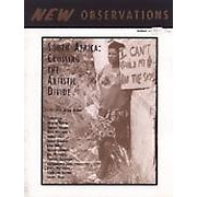 South Africa: Crossing the Artistic Divide - In this issue editor Keith Adams brings together South African artists examining the rebirth of their country. From drawings, photographs, and sculpture to poetry and essays about language, filmmaking, and theater, the contributors share both vision and concern for their country. Contributors include: Joan Baker; Mervyn Davids; Lionel Davis; Sandile Dikeni; Garth Erasmus; Charlton George; Albert Hess; Abduraghien Johnstone; Rashid Lombard; Jimi Matthews; Vanessa Solomons; Hein Willemse…Order here