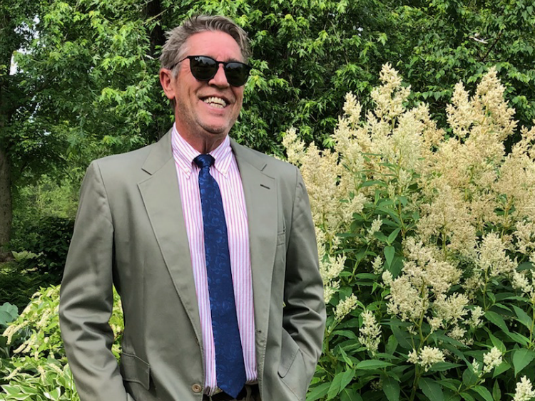 Landscape Designer - Joe, designer for Adams Eden Design, has 44 years of experience combined with a modern approach to landscape design making it accessible to anyone.