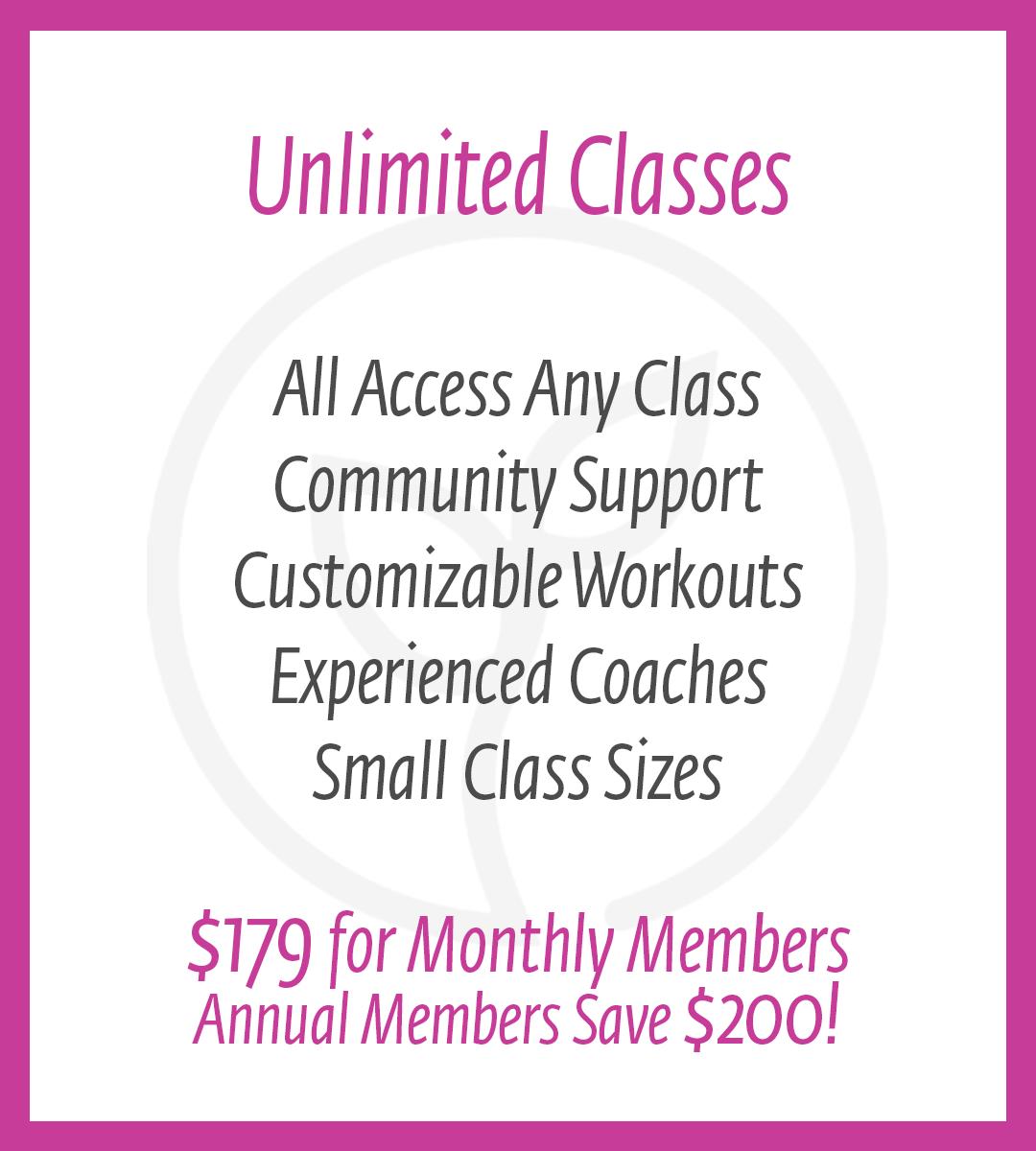 thrive unlimited membership