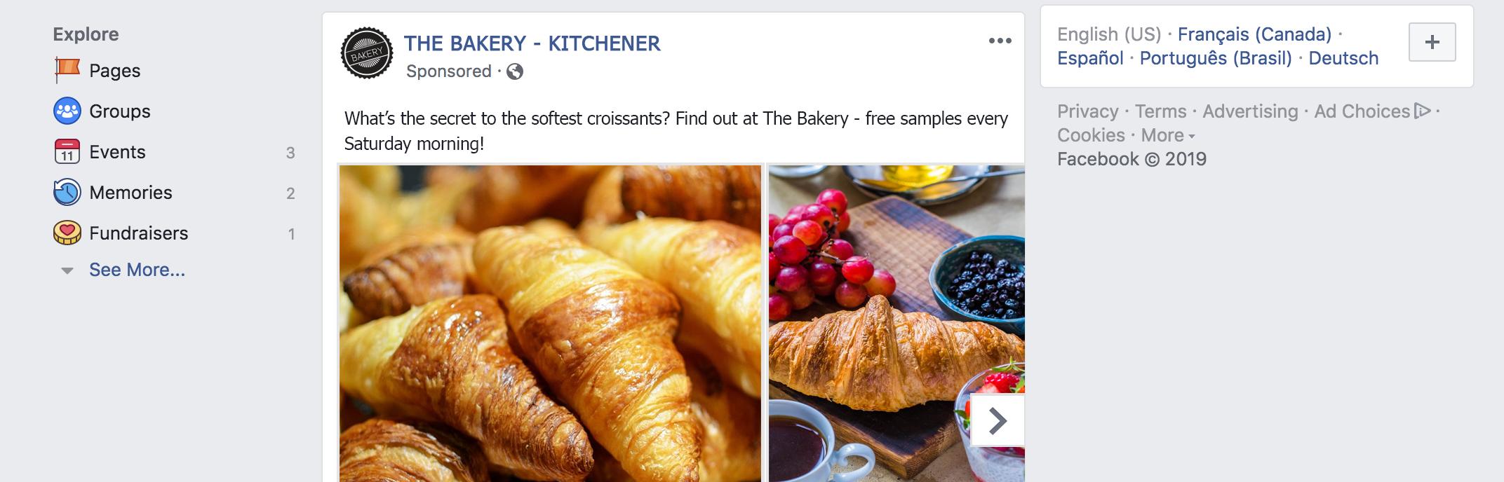 Facebook marketing partners help you create beautiful ads immediately!