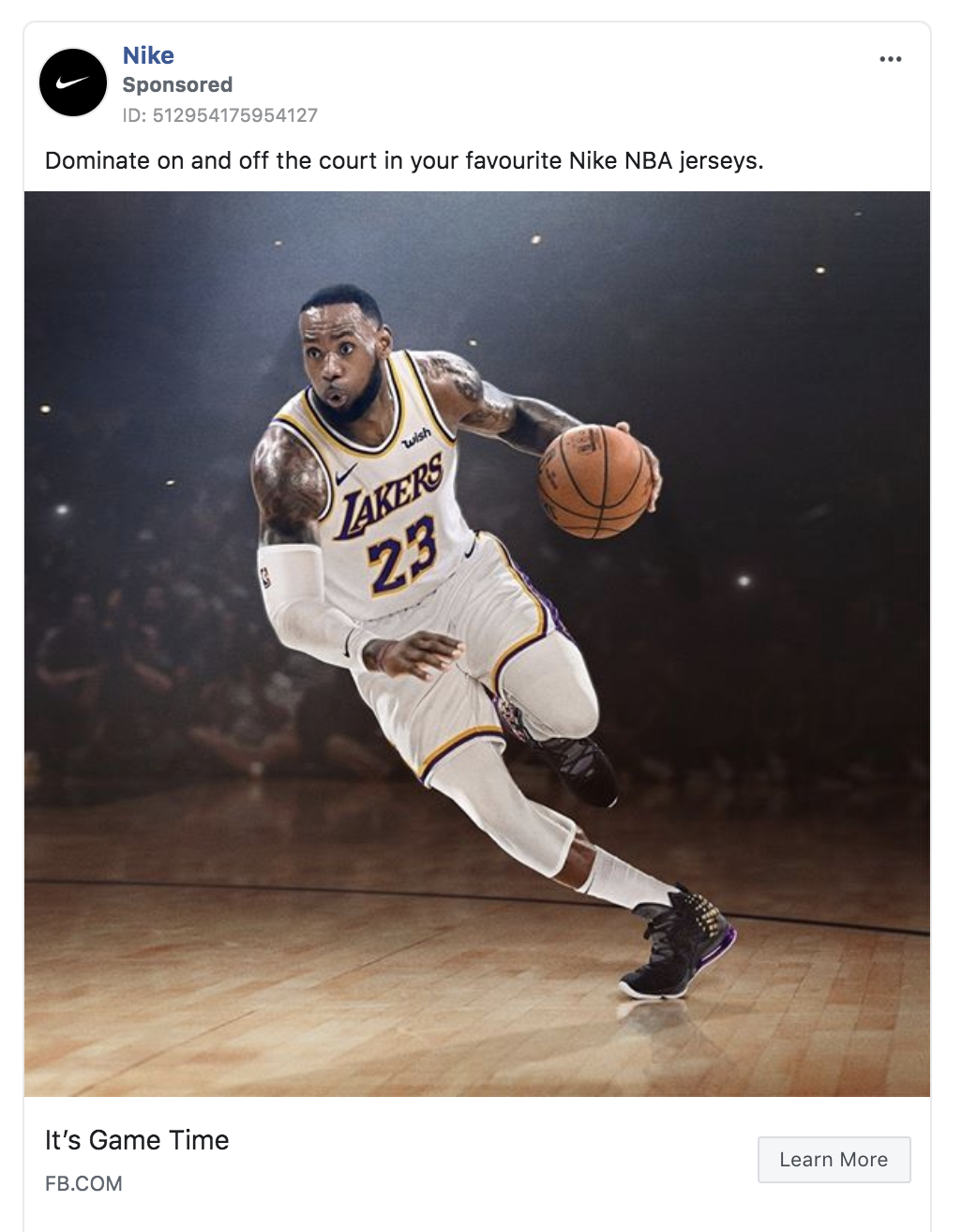 Nike Case Study How Nike Facebook Ads Are Used To Drive Sales Relevantly Facebook Marketing