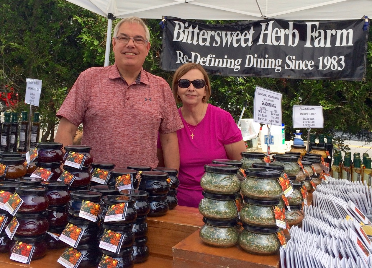 Bittersweet Herb Farm - Wilmington, MAOccasional: 6/20,Instagram: @BittersweetHerbFarmTwitter: @BittersweetHerbFacebook: Bittersweet Herb FarmAll-natural gourmet finishing sauces, oils, balsamic vinegars and specialty jams. Our commitment is to harvest the earth-fresh flavors of the fields and combine them in exciting recipes for everyone who enjoys fine foods.