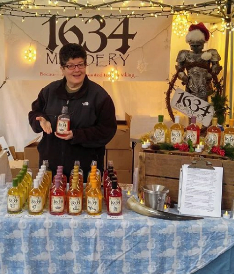 1634 Meadery - Ipswich, MAMonthly: 6/20, 7/18, 8/15, 9/26, 10/241634Meadery.comInstagram: @1634MeaderyTwitter: @1634MeaderyFacebook: @1634MeaderyWe make small scale batches of wine in a manner that helps capture the true honey, fruit and spice tastes and smells of our local ingredients.Our goal: To make the best mead (honey wines) around with the best local farm ingredients and share our passion with other
