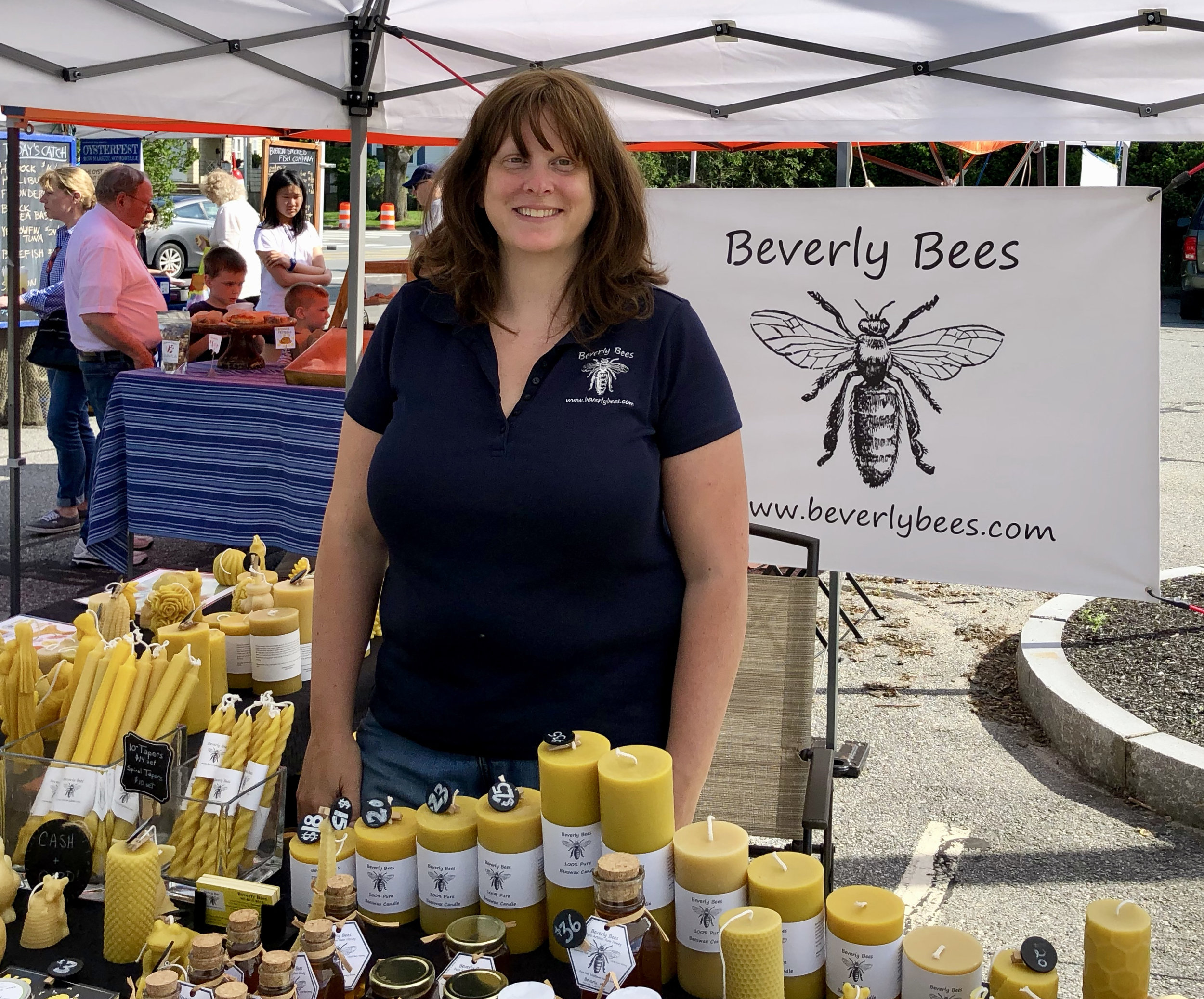 Honey and beeswax products from Beverly Bees