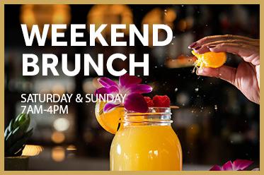 Weekend Brunch   Saturday & Sunday 7am-4pm
