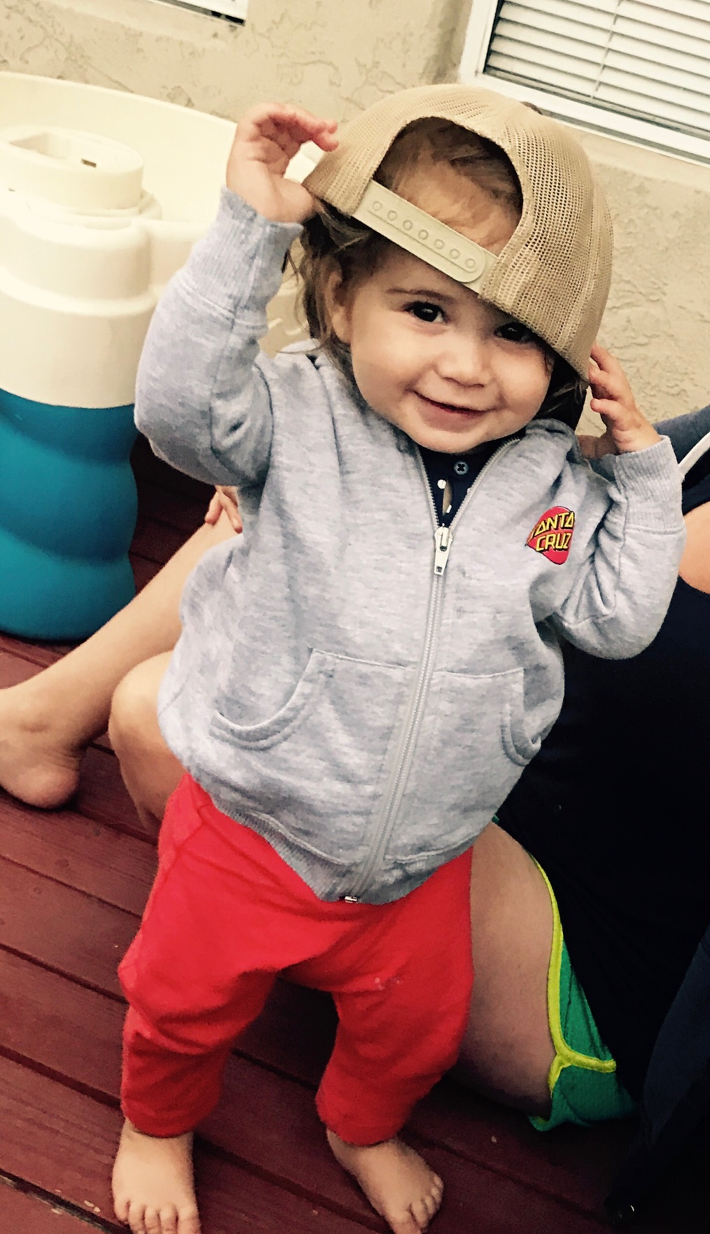 Lily, CBAB (CERTIFIED BADASS BABY) - How could I not include a picture of her?! My BIRTHFIT baby. She reminds me daily to love and cherish every moment!!