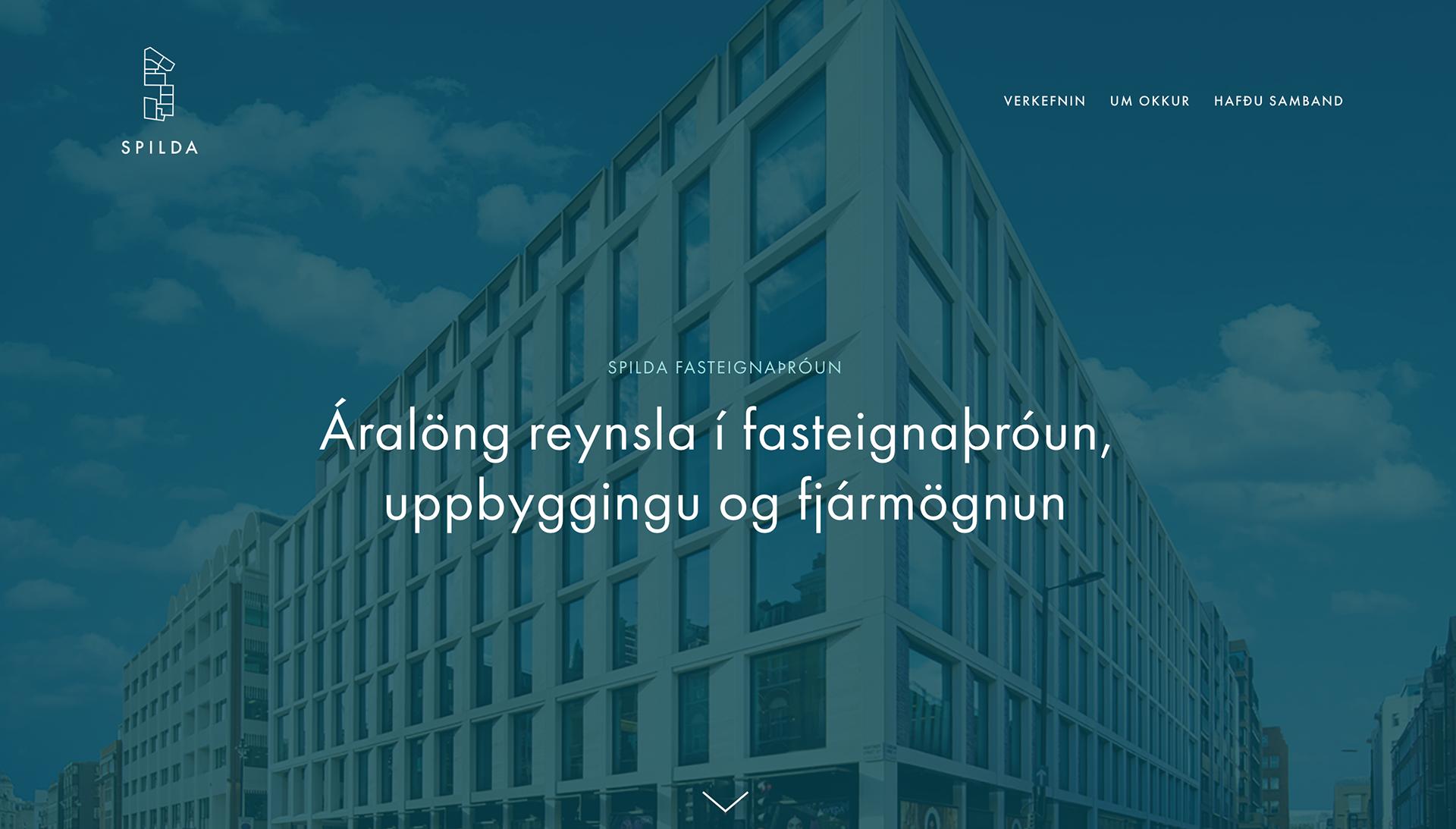 SPILDA: web design + web development + logo design + branding