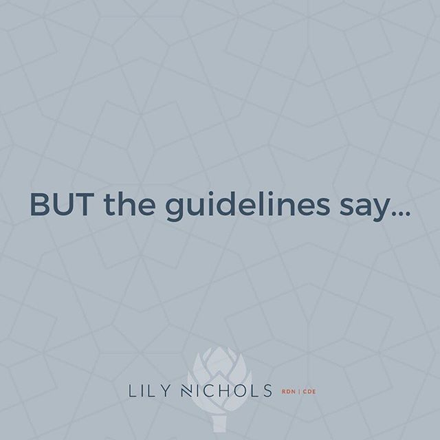 """Facts vs. guidelines. Get in the know on current research vs. outdated guidelines.  #Repost @lilynicholsrdn ・・・ BUT THE GUIDELINES SAY… This is the most common rebuttal I have to my work. People have a lot of fear about going """"against the guidelines,"""" especially with anything related to pregnancy. I get it. This used to be me. It took me YEARS to get the courage to teach based on *current research* when it conflicted w/ the guidelines. . Ultimately, this comes down to professional ethics & the """"first do no harm"""" principle of medicine/nutrition. If we have new evidence to suggest guidelines are outdated & might be doing harm to mamas and babies, how can we NOT implement this information? . BUT THE GUIDELINES SAY vs. FACTS •Vitamin B12 needs are 2.6 mcg — Actual needs are 3x higher than previously thought in pregnancy & breastfeeding. •Choline needs are 450 mg — Turns out these were set based on estimates from studies on MEN. New data show that 930 mg is linked to optimal brain development, prevention of preeclampsia & better placental nutrient transfer. •You can't eat eggs w/ runny yolks — Eggs account for 2% of food borne infections in the U.S. Fresh fruits & veggies account for 46%. Who decided eggs are """"risky"""" while produce isn't? •Protein needs only increase a little — Really? First ever study to directly estimate protein needs in PREGNANT WOMEN was done in 2015. Actual protein needs are 39% & 73% higher in early and late pregnancy, respectively, compared to current estimated average requirements. •Vitamin D needs are 600 IU — Wait. RCT data show that 4,000 IU/day = best vitamin D status in mama and baby. 600 IU has repeatedly been shown to result in deficiency. . I could give at least a dozen more examples. Want the studies to back it up? They're all cited in #realfoodforpregnancy. There's a reason I took the time to put line-by-line citations in the book. My conclusions are constantly challenged. But I'm just the messenger for research. It's your choice—as a ma"""