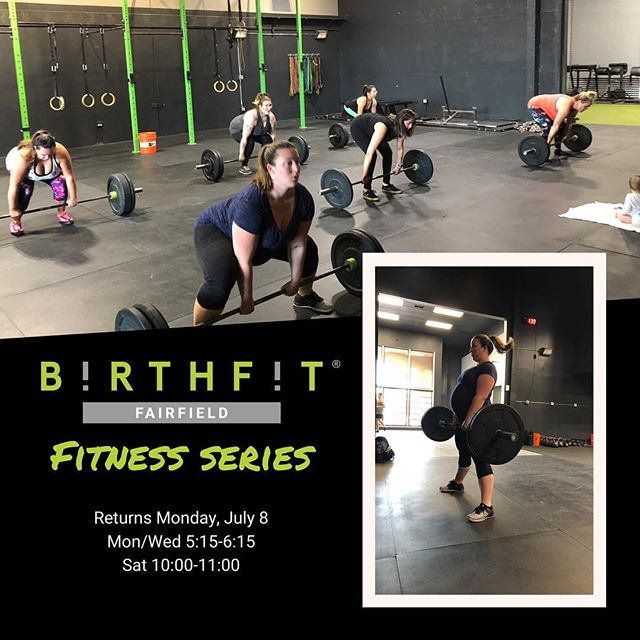 BIRTHFIT Fitness Series returns tomorrow! This series is for current mamas, hopeful mamas, future mamas, and anywhere in between. Come sweat, train, rehabilitate, and connect with us! Registration link in profile.  #fitness #nutrition #mindset #connection #BIRTHFIT #intentionalliving #trainforlabor #rehabilitatepostpartum