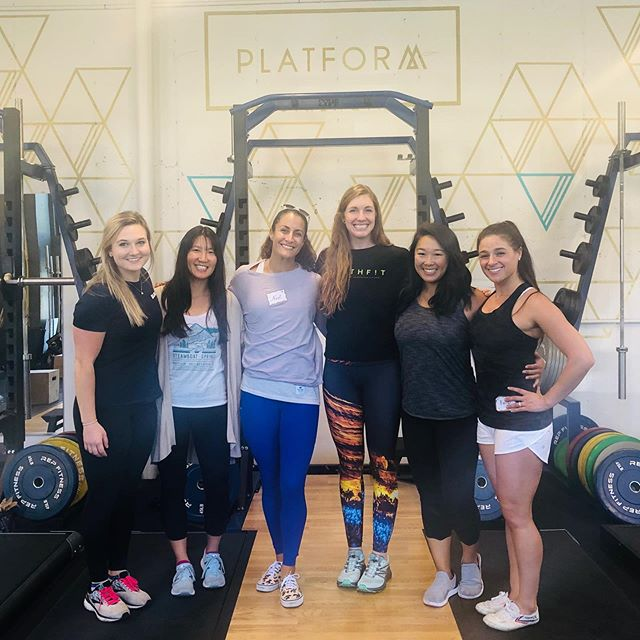 BIRTHFIT Coaches Seminar in Denver, CO brought the 🔥✨💚. • • It has been almost two years to the date since I attended my first coaches seminar. When the chance to attend again fortuitously presented itself this weekend, I could not pass it up. I knew there was much knowledge to be gained and revitalized. • • I came into the seminar with a great sense of gratitude for @BIRTHFIT and the impact this movement has already had on my life. I was humbled to have the opportunity to share my experience thus far and appreciated the platform to speak on BIRTHFIT advocacy. I left the seminar grounded, healed, energized, and united in love. • • I am honored to have shared the space with these incredible people and appreciated them showing up so authentically for themselves and for others. I am eternally grateful for the connections this movement continues to bring to my life. • • Thank you to @melissahemphill and @nastwhitson for leading from the front as true queens and creating the space for the magic of @BIRTHFIT! Thank you to @platformstrength and @emilyschromm for sharing your incredible space with us.  #BIRTHFIT #BIRTHFITcoach #unitedinlove #growthmindset #BIRTHFITmagic #fitness #nutrition #mindset #connection