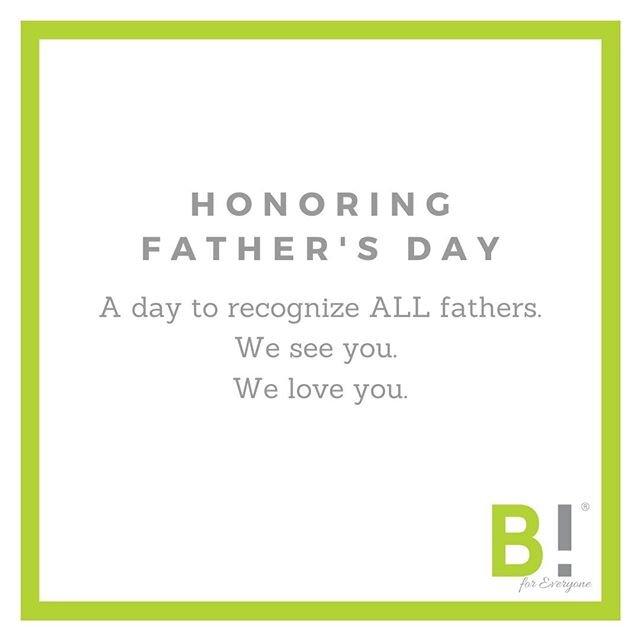 今天向所有的父亲致敬。为哀悼父辈的人。充满希望的父亲。trans-fathers。适用于那些与父亲关系不好的人。献给失去孩子的父亲们。替身的父亲。继父。寄养父亲。父亲。今天我们向你们致敬。你的光。你的爱。 Your strength.
