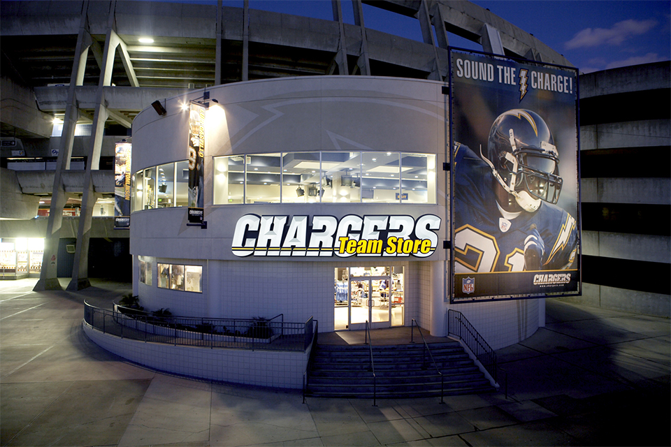 Chargers Team Store - San Diego, California