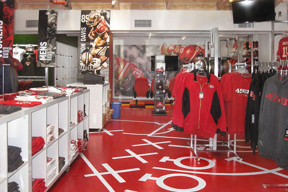 49ers Pop-up - Palo Alto, California
