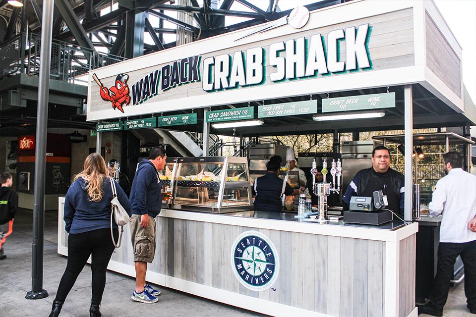 Way Back Crab Shack, T-Mobile Park - Seattle, Washington