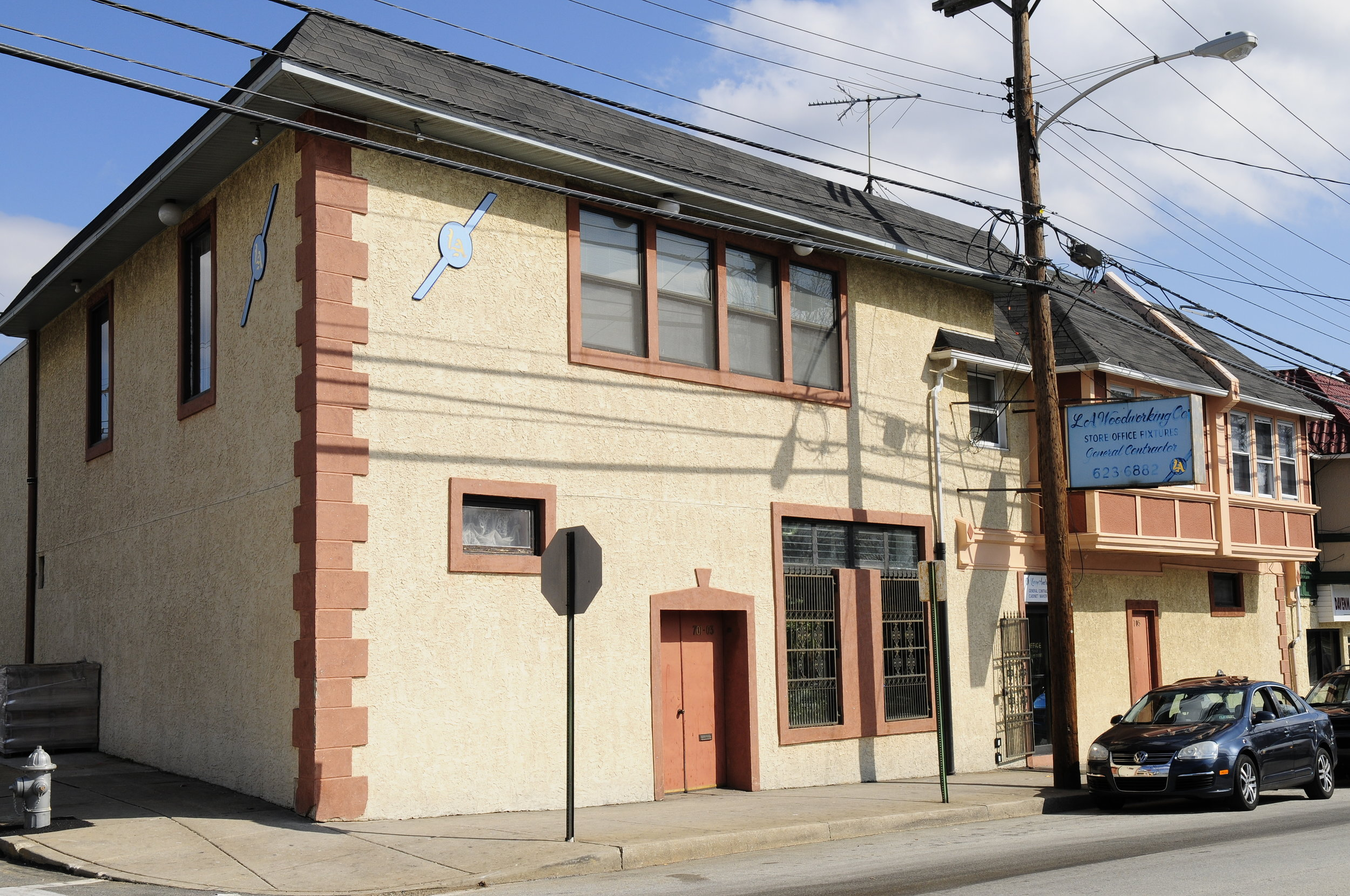 LA WOODWORKING CO INC - located at 701-705 Long Lane, Upper Darby, PA 19082