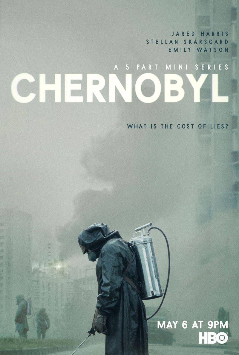 Kristy is watching Chernobyl - She highly recommends it and buying iodine pills.