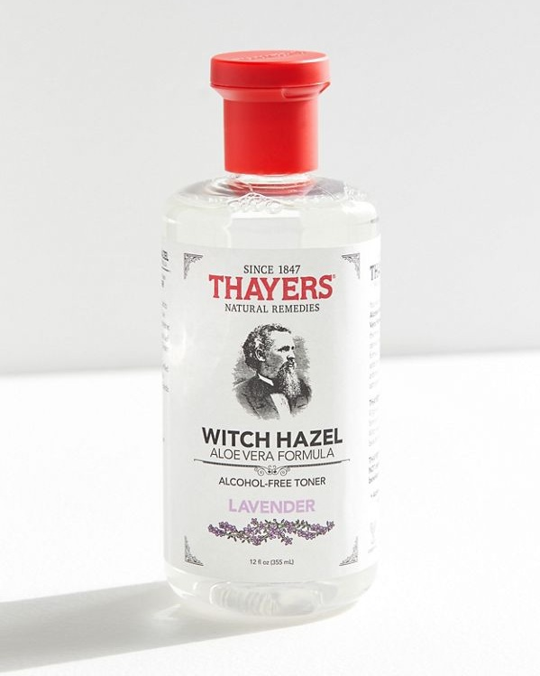 Thayer's Witch Hazel - [Rose/ Lavender / cucumber]Though there are many debates on whether toner is necessary or not in a skin care routine, I personally use this as my basic skin makeup remover.