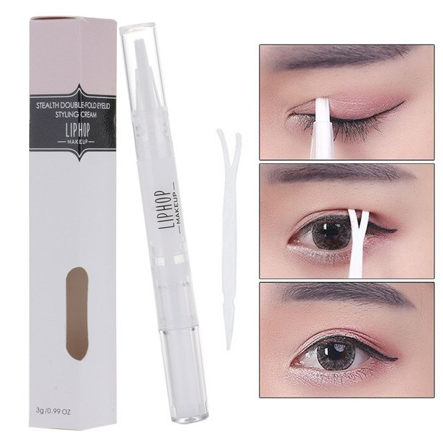 A product similar to Jisoo's double eyelid glue applicator