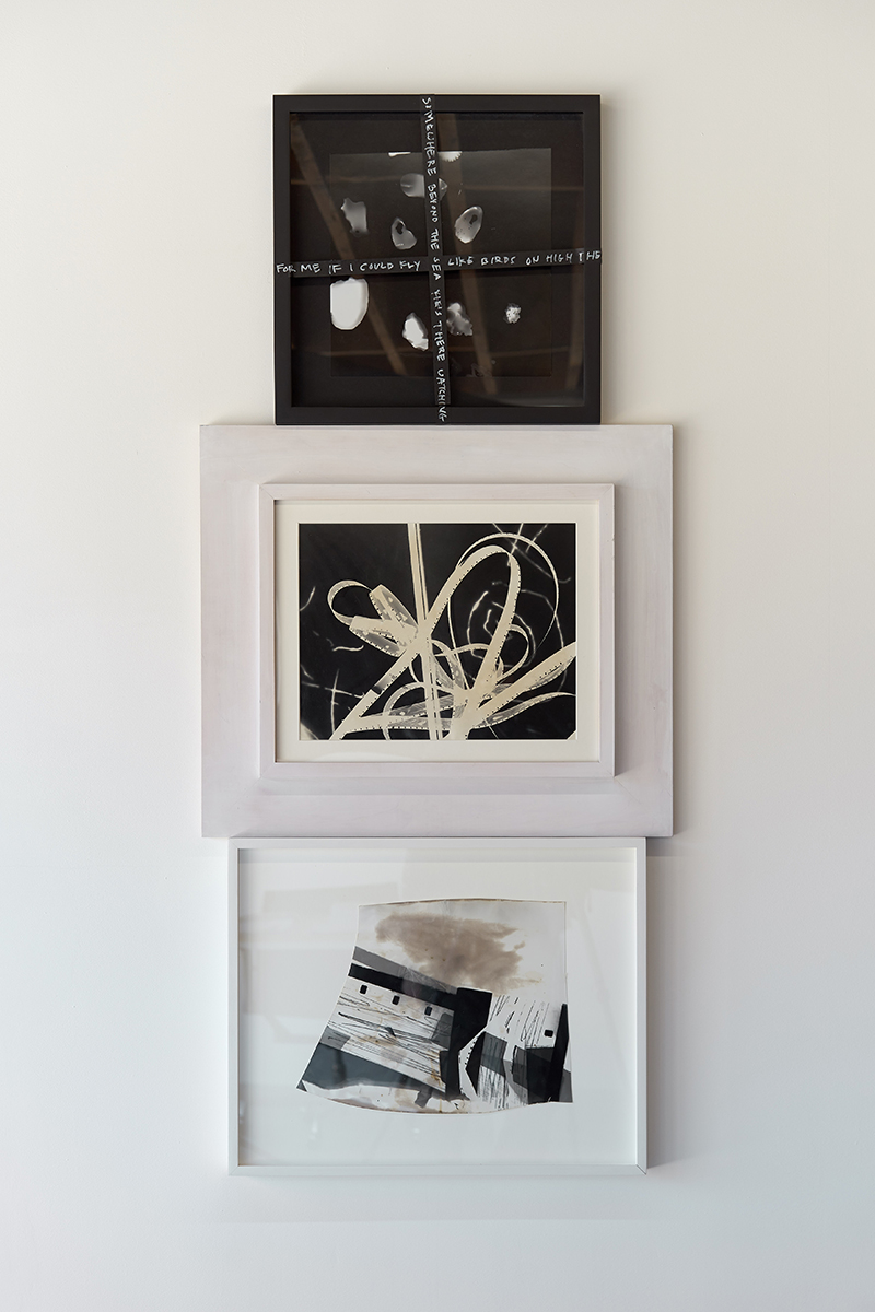 Amy Granat   La Mer , 2019  Photo silver gelatin prints, mixed media  53 1/2 x 23 1/2 x 1 3/4 inches (135.9 x 59.7 x 4.4 cm)