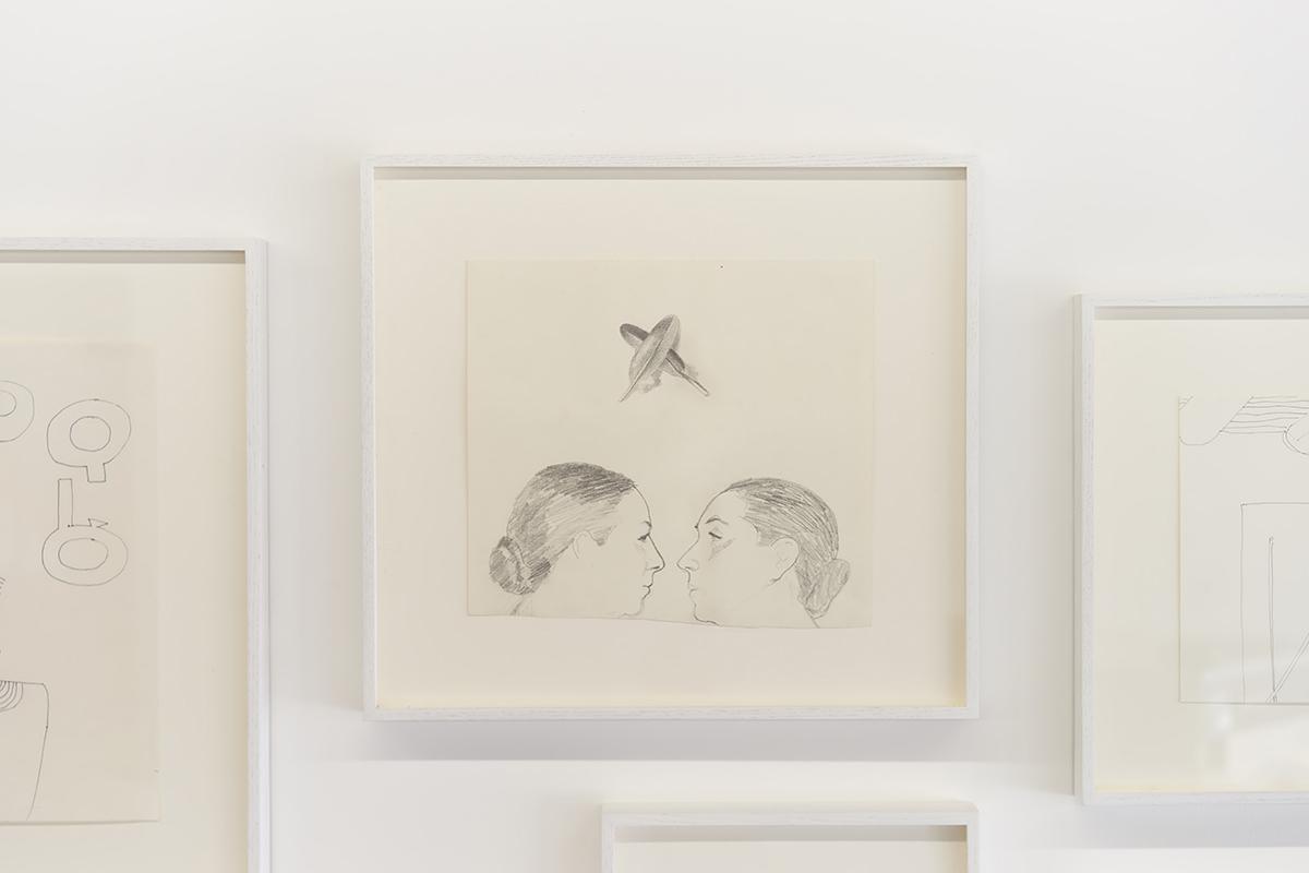Luchita Hurtado   Untitled , c. 1970s  Graphite on paper  16 1/2 x 18 x 1 1/2 inches (41.9 x 45.7 x 3.8 cm)