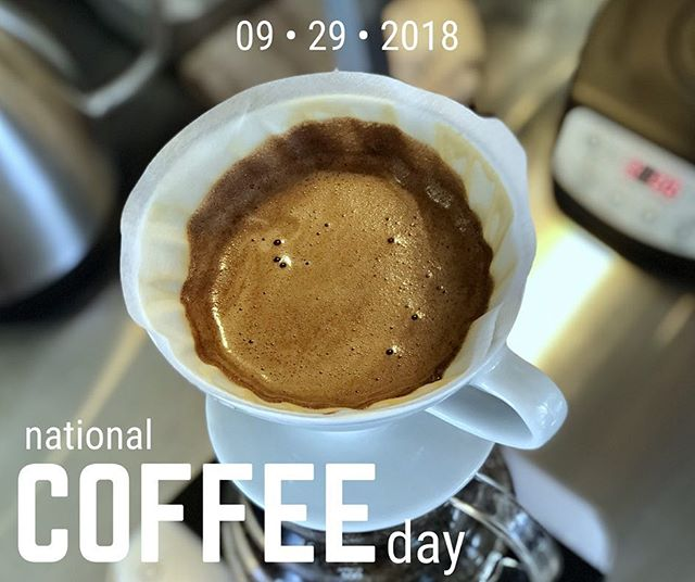 A mild Saturday in fall with plenty of caffeinated activities sounds like a good #NationalCoffeeDay to us!