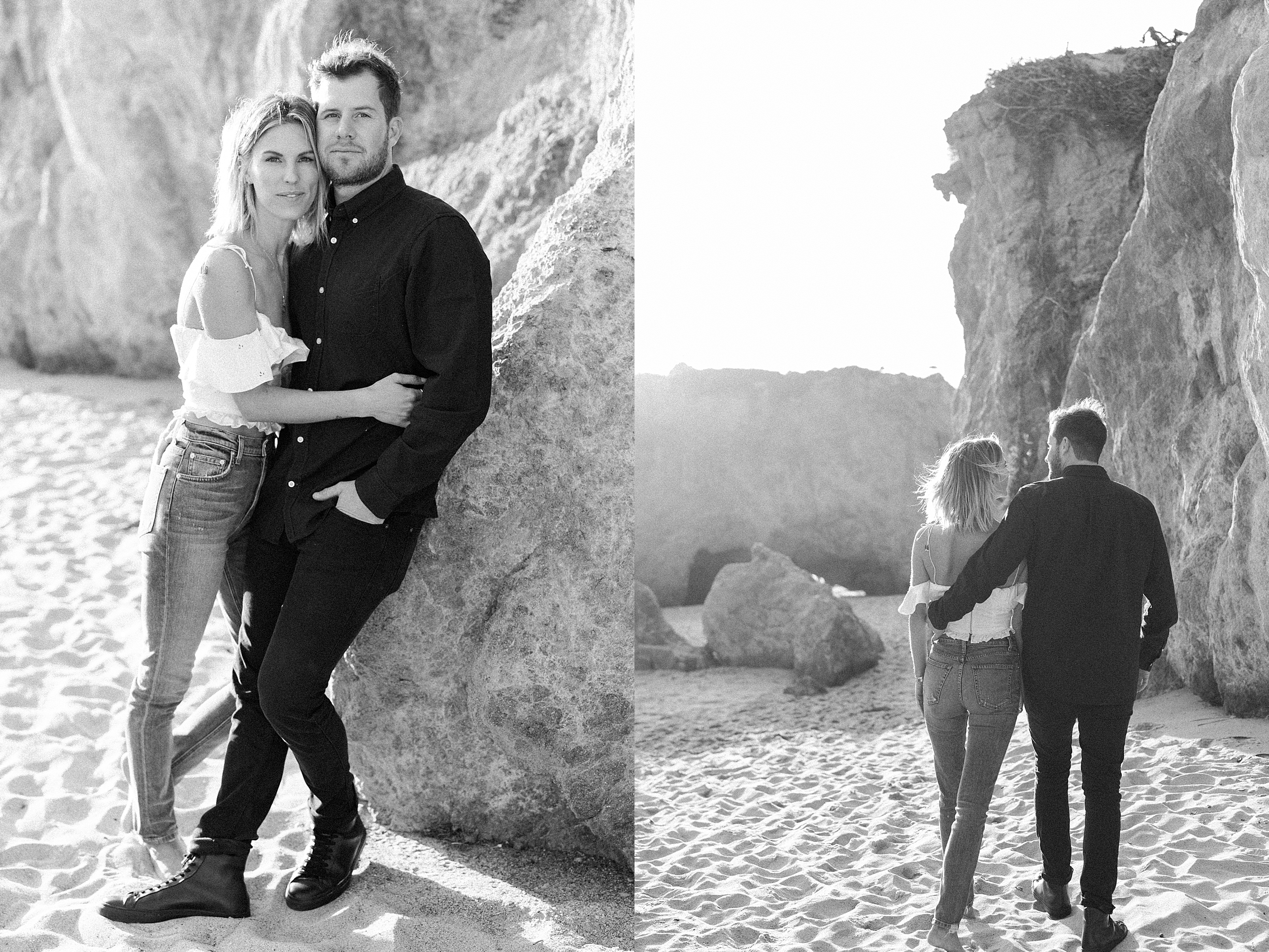 El Matador Malibu Engagement Session Stewart and Connie Photography_0004.jpg