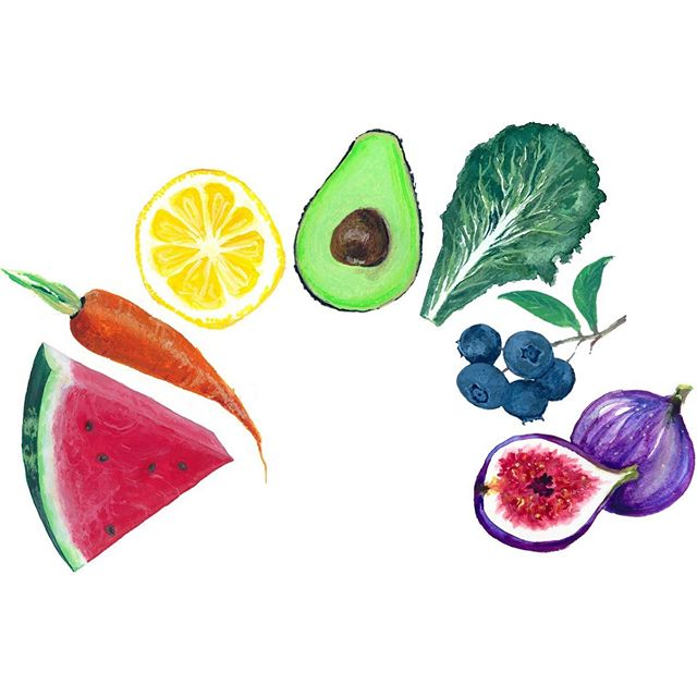 It feels like a rainbow kind of day! Anyone wit me? What would your food rainbow be? Mine would be raspberries, tangerines, lemons, avocados, blueberries, and grapes. ❤️🧡💛💚💙💞