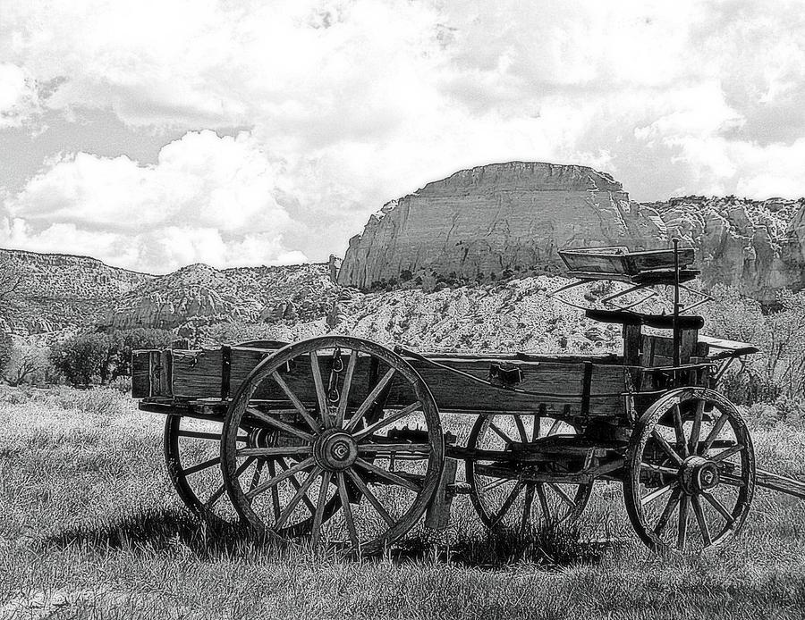 old-wagon-at-ghost-ranch-in-black-and-white-toni-abdnour.jpg