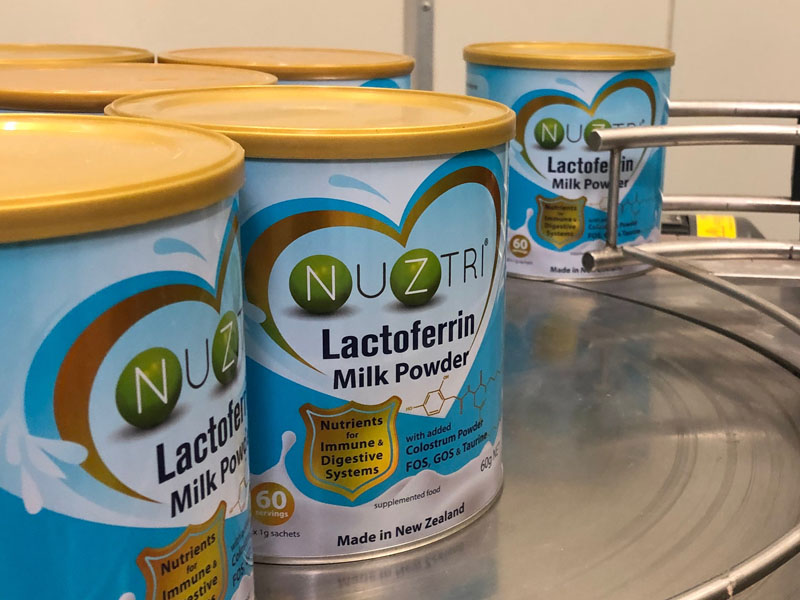 Triple Treasures Lactoferrin Protein Can