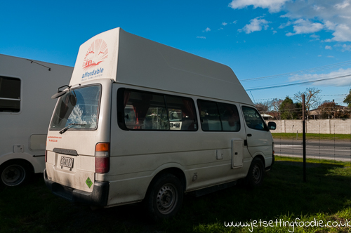 This Toyota Campervan has been my trusty companion for 10 days. It was really sad to say goodbye.