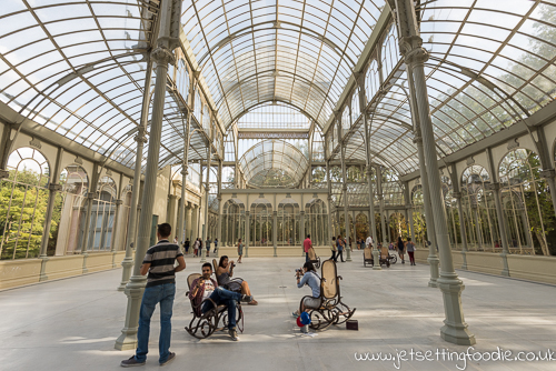 Crystal Palace (Palacio de Cristal) @ Parque del Retiro