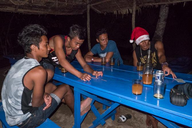 Island style Christmas eve…