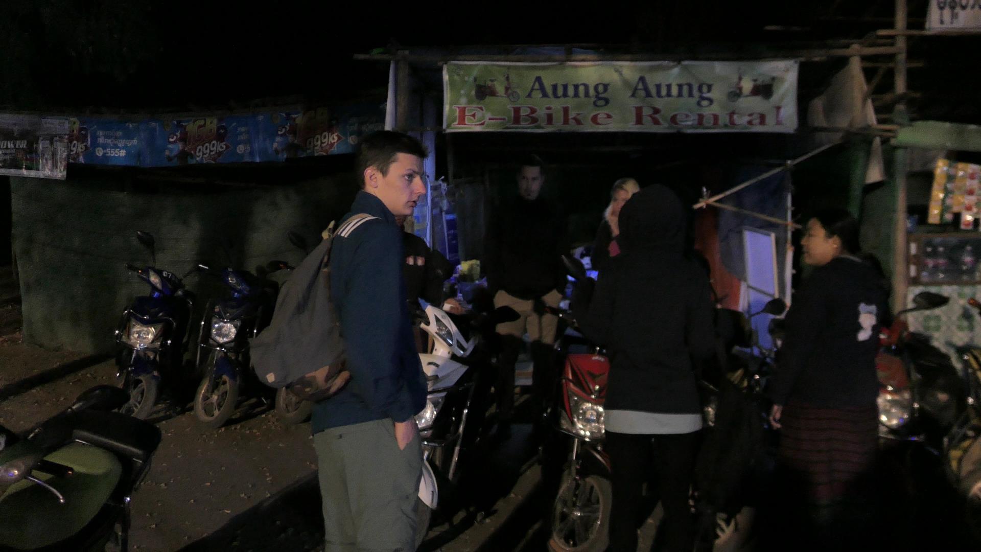 Aung Aung E-bike Rental in Bagan, Myanmar