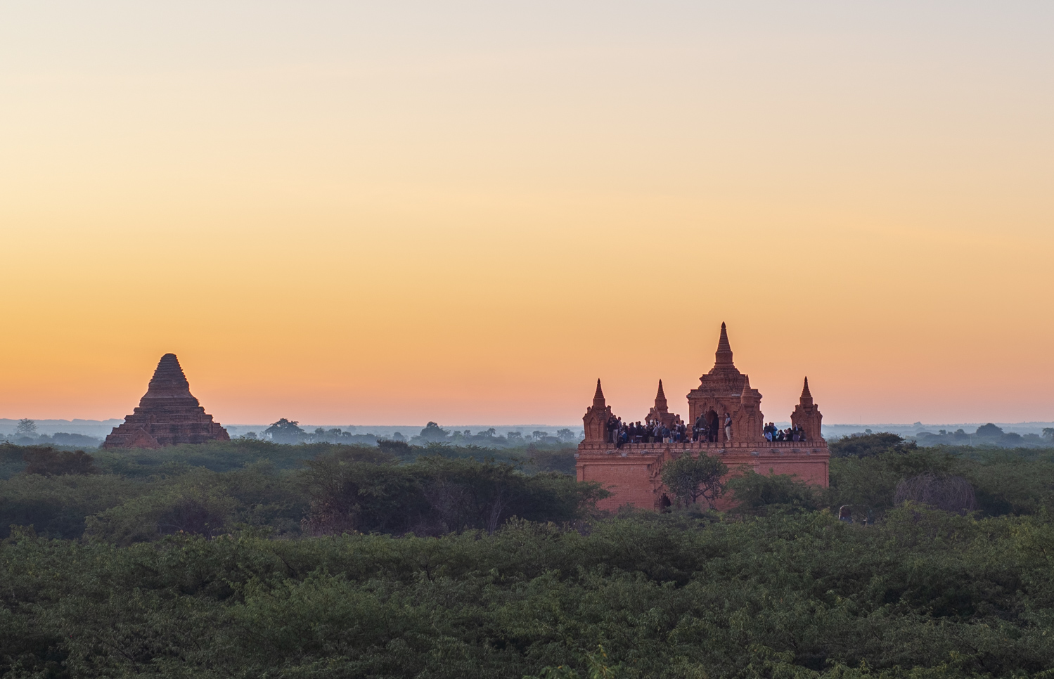 Accessible Bagan Sunrise Viewing Spot