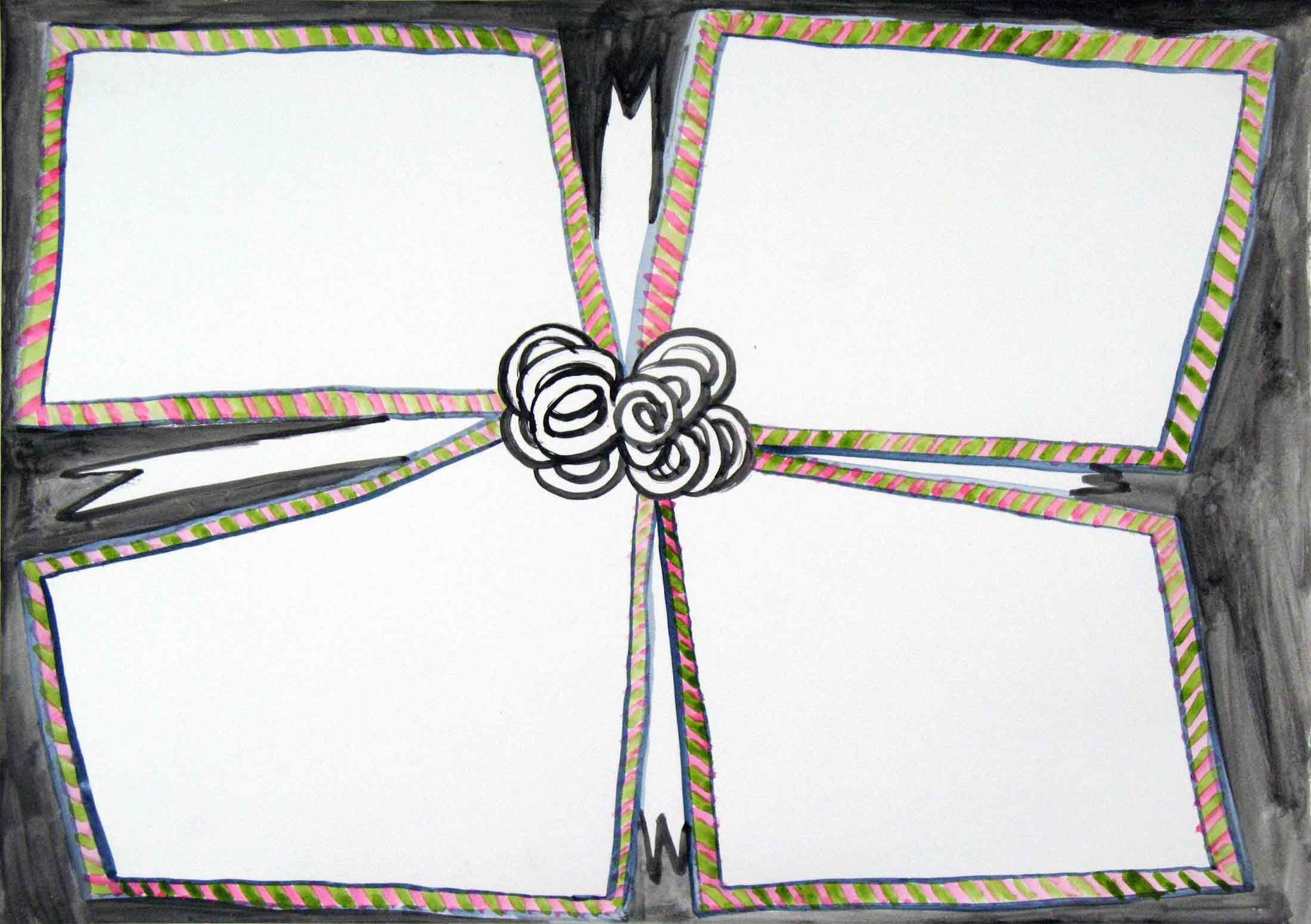 Uit de serie  Verwachtingen (Expectations)  gouache 29 x 42 cm, 2012