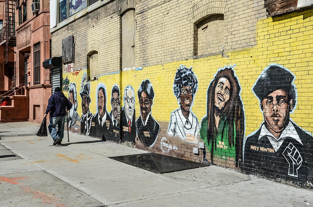 Murals in Bedford Stuyfesant Brooklyn NY . Photos By Tiffany Hagler-Geard