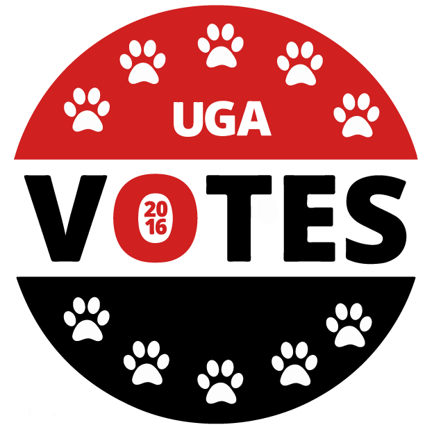UGA Votes Logo